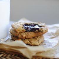 Peanut Butter Jam Cookies