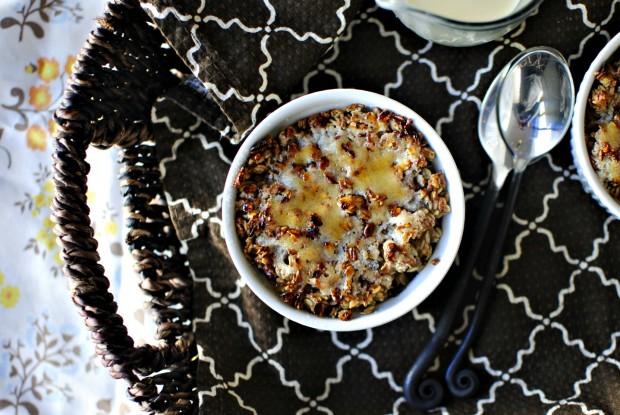 Oatmeal Brûlée l SimplyScratch.com