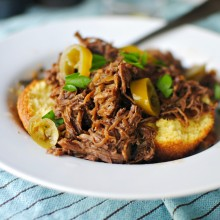 Crock Pot Balsamic Barbecue Pulled Pork 03