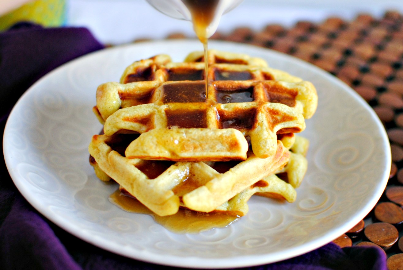 Maple Syrup Waffles Simply scratch » honey buttermilk waffles ...