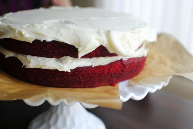 классический рецепт торта красный бархат с фото