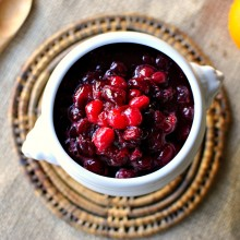 Homemade Cranberry Sauce 02