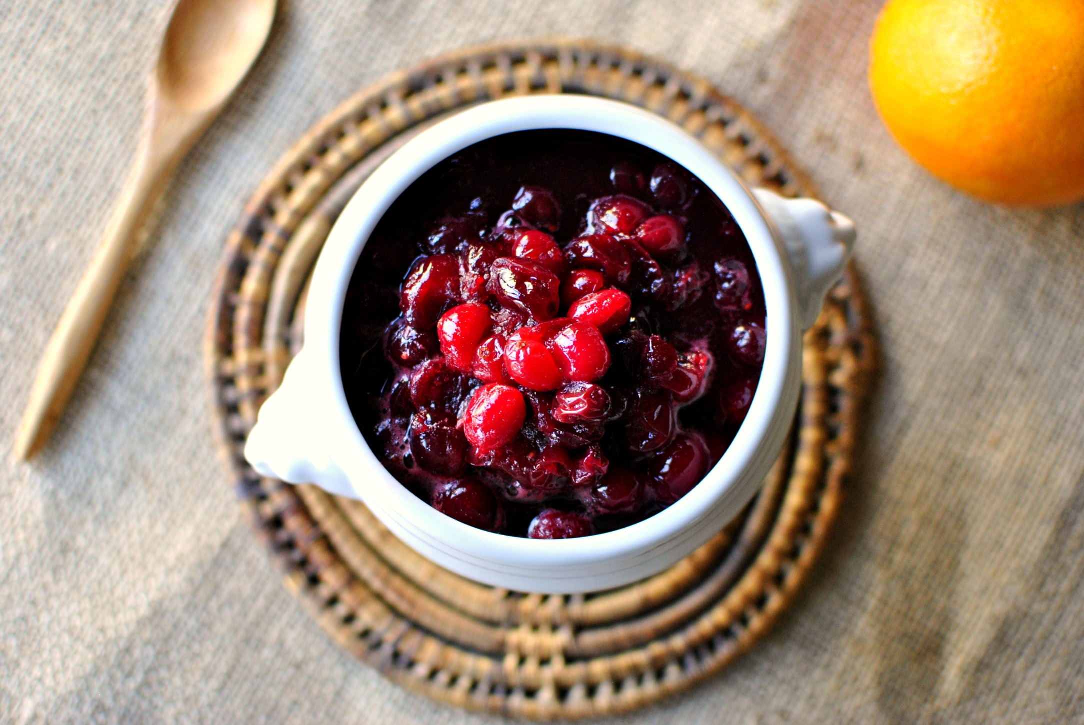 Simply Scratch Homemade Cranberry Sauce 02 - Simply Scratch