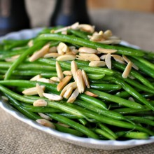 Garlicky Green Bean Almondine 2