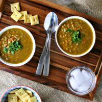 Hearty Vegetarian Lentil Soup