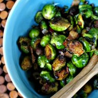 Caramelized Balsamic Glazed Brussels Sprouts
