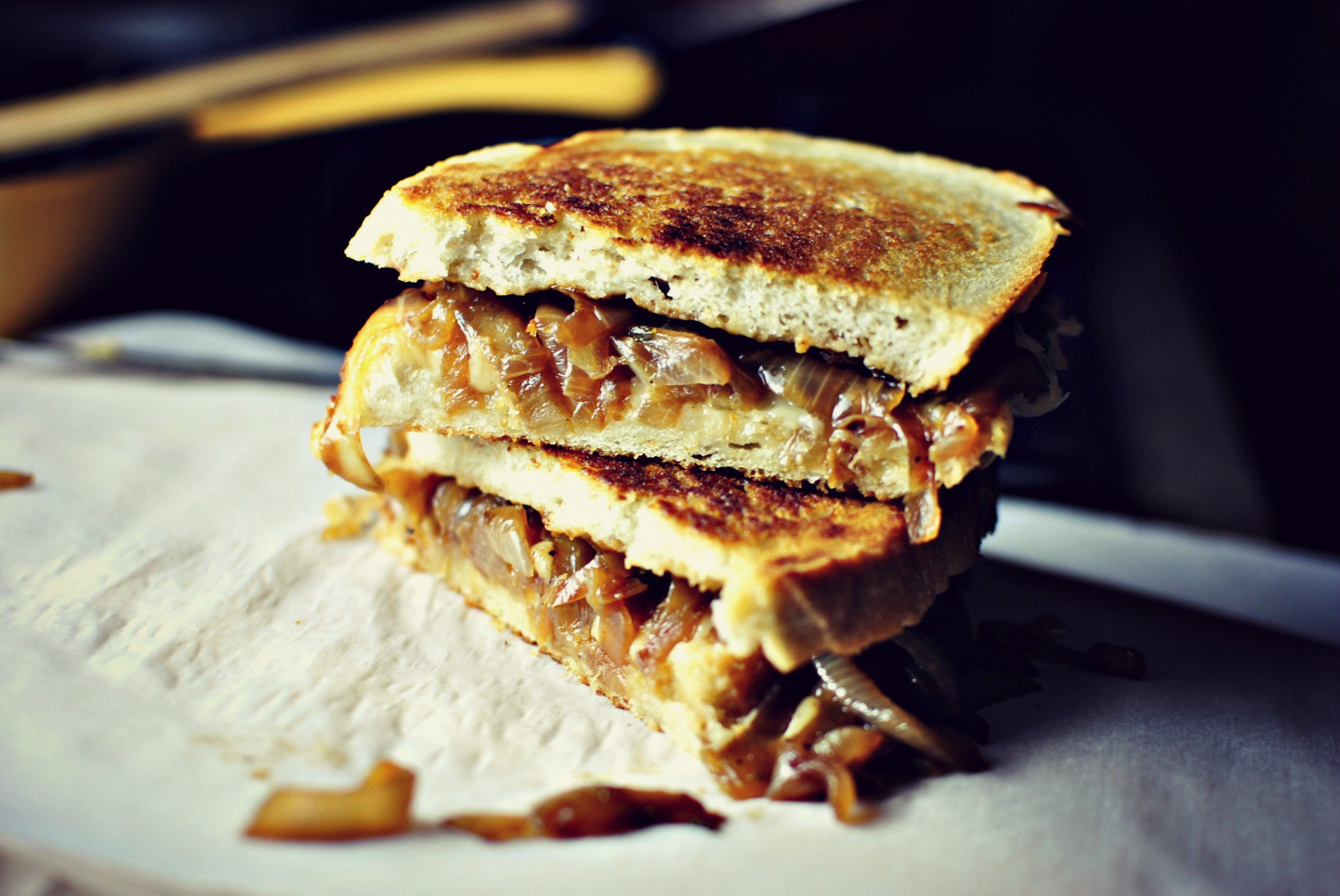 Simply Scratch French Onion Soup Grilled Cheese Sandwiches 1 - Simply ...