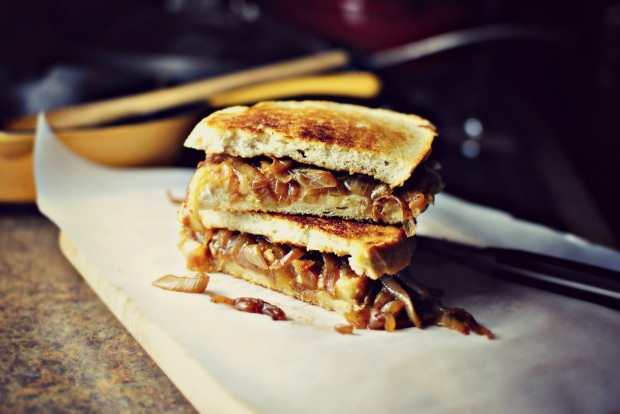 Simply Scratch French Onion Soup Grilled Cheese Sandwiches - Simply ...