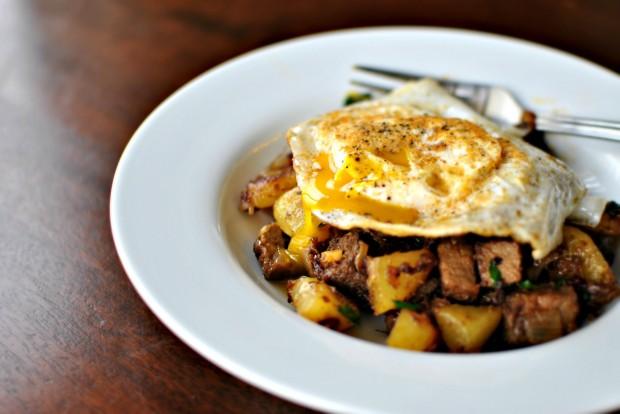 Prime Rib Breakfast Hash l SimplyScratch.com