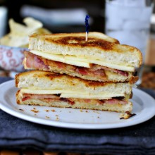 Apple & Bacon Grilled Cheese