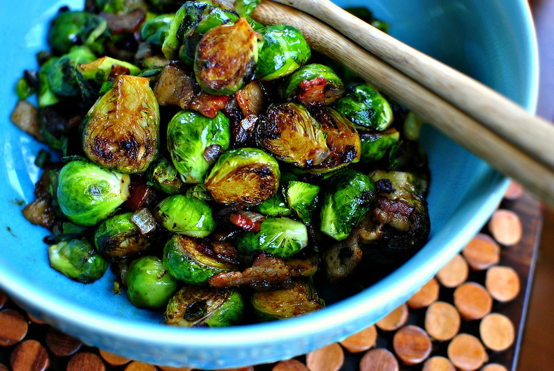 Balsamic Brussels Sprouts 01