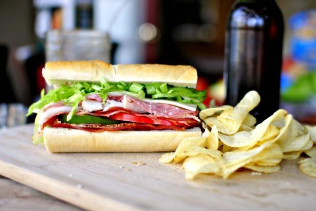 Italian Sub Sandwich 2
