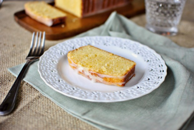 Pink Grapefruit Sour Cream Cake SimplyScratch.com