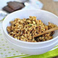 Spiced Pistachio Toasted Coconut Granola