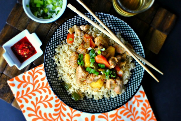 Spicy-Pork-Teriyaki-Stir-fry-l-SimplyScratch.com-top