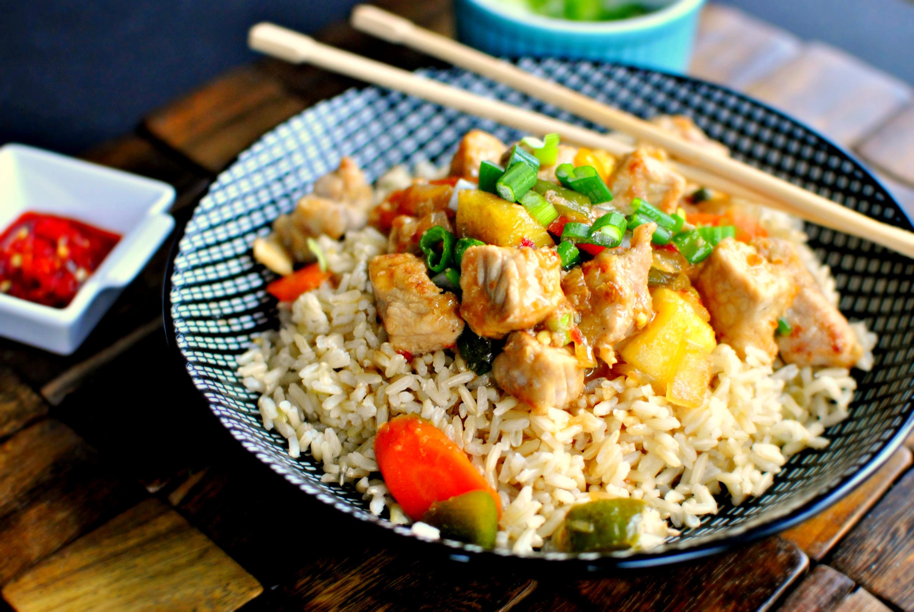Pork Stir Fry With Green Onion Recipes — Dishmaps