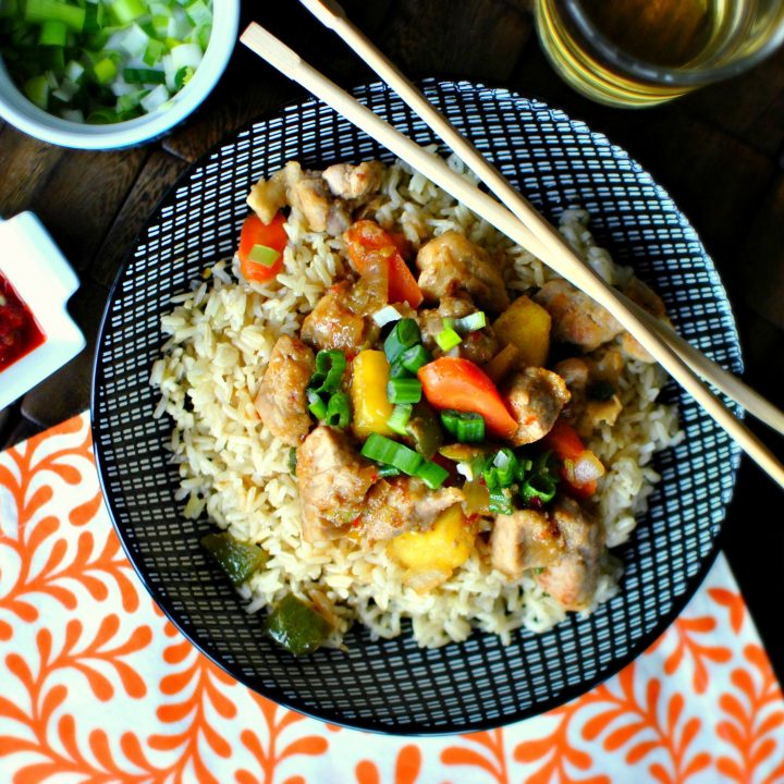 Spicy Teriyaki Pork Stir-Fry