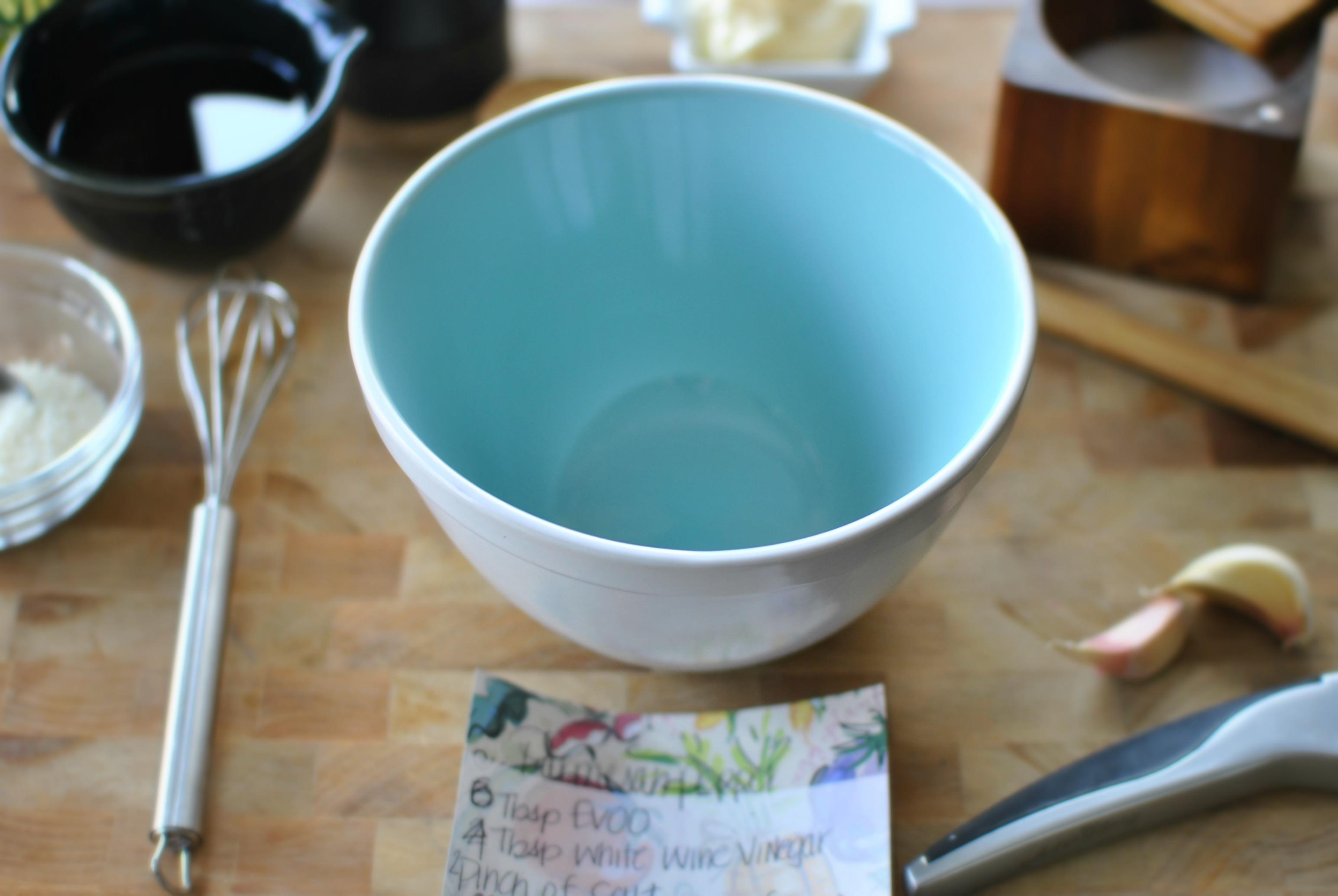 Simply Scratch Garlic Parmesan Peppercorn Salad Dressing - Simply ...