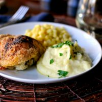 Creamy Parmesan Garlic Mashed Potatoes