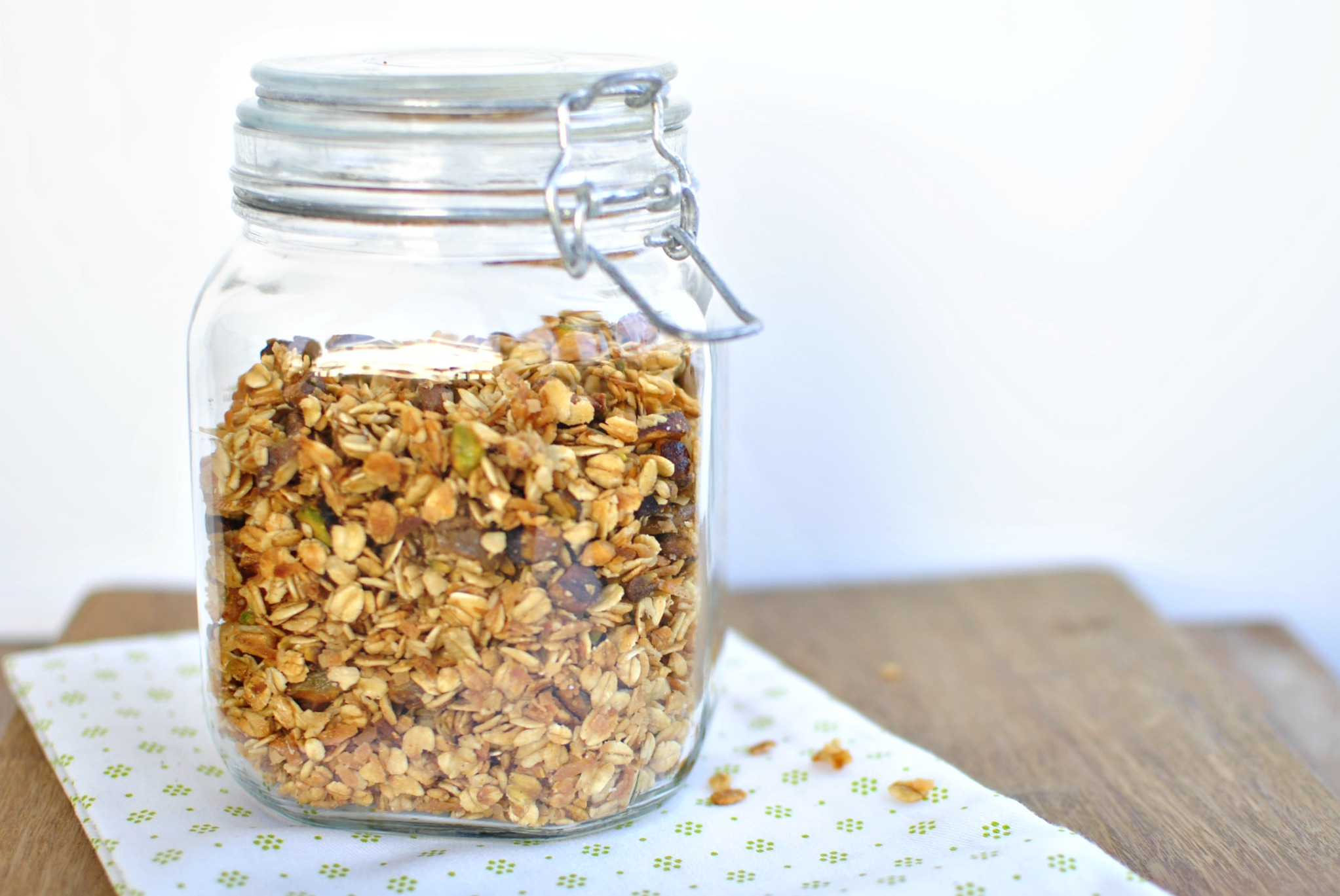 how to make muesli from scratch