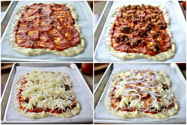 pizza buliding