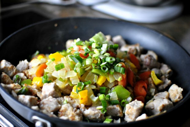 spicy-pork-teriyaki-stir-fry-green-onions
