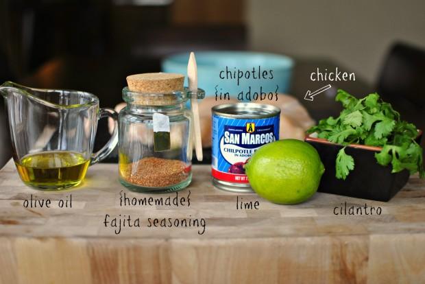 the marinade