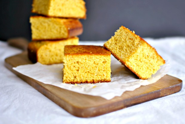 Honey Maple Glazed Cornbread