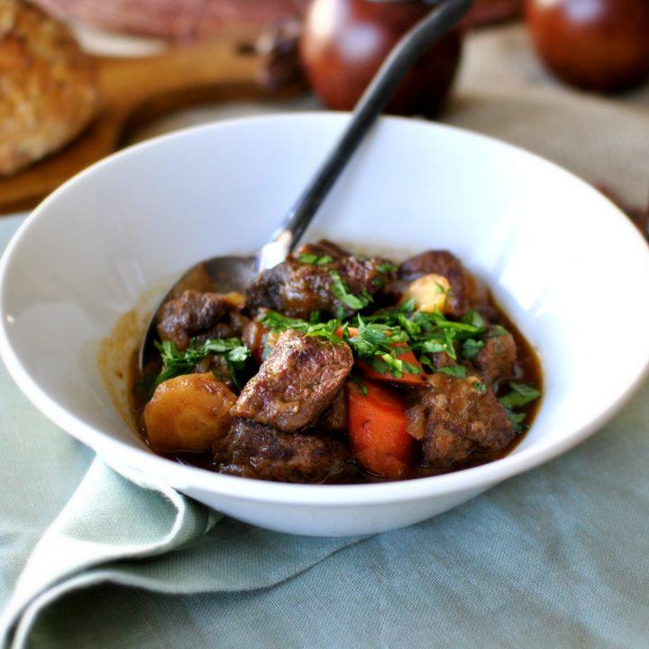 Irish Stout Beef Stew