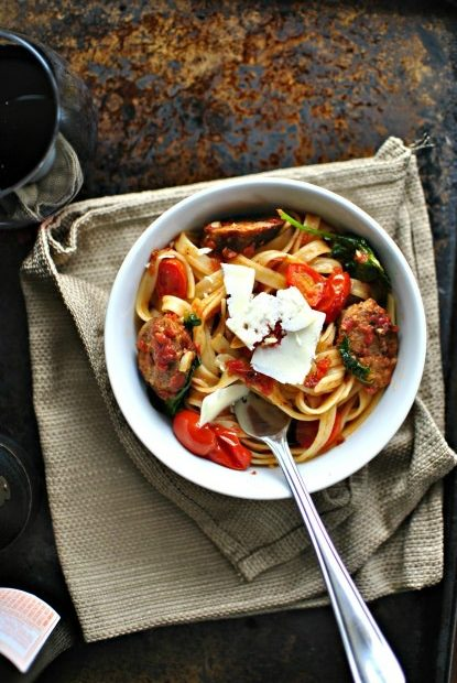 italian-sausage-kale-and-blistered-tomato-fettucine