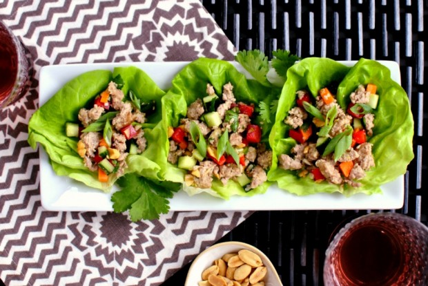 Spicy Pork Lettuce Cups 01