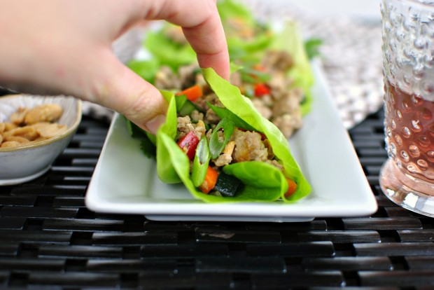 Spicy Pork Lettuce Cups 3