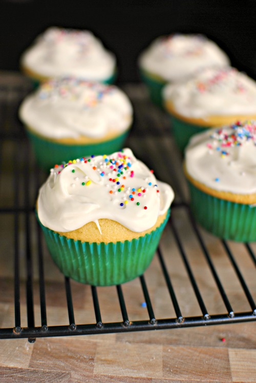 Yellow Cupcakes 3