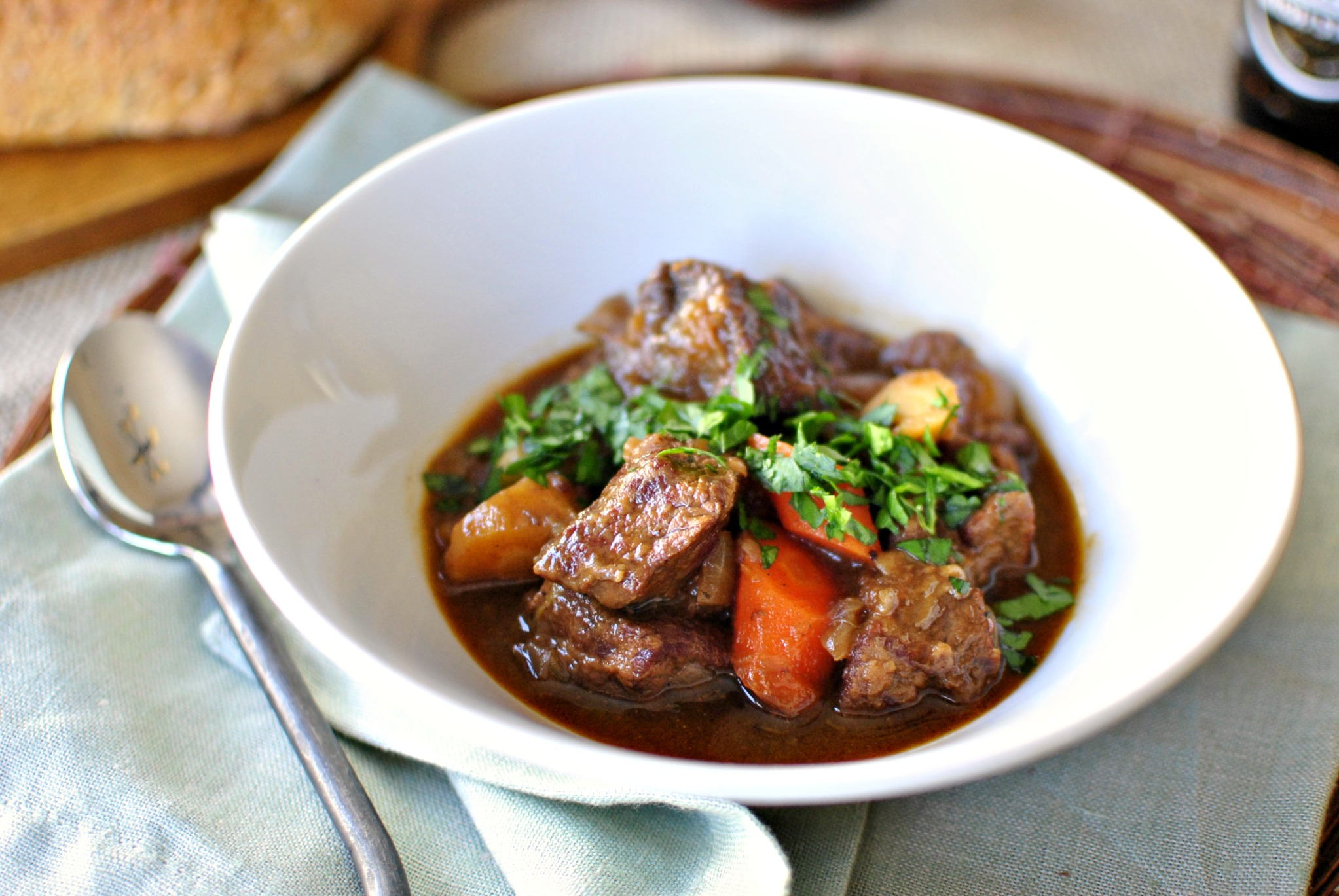 Simply Scratch Irish Stout Beef Stew - Simply Scratch