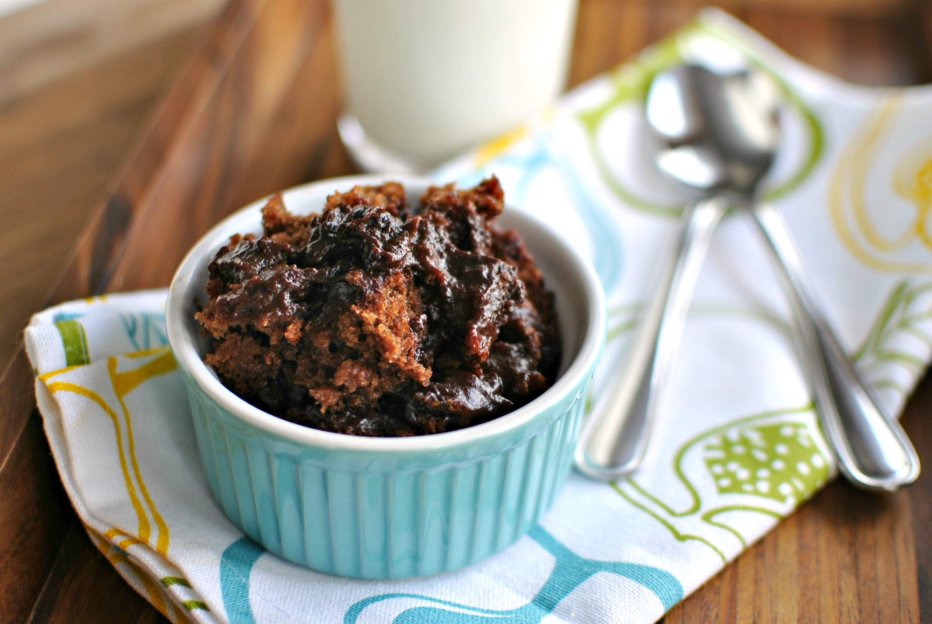 Simply Scratch Gooey Chocolate Pudding Cake - Simply Scratch