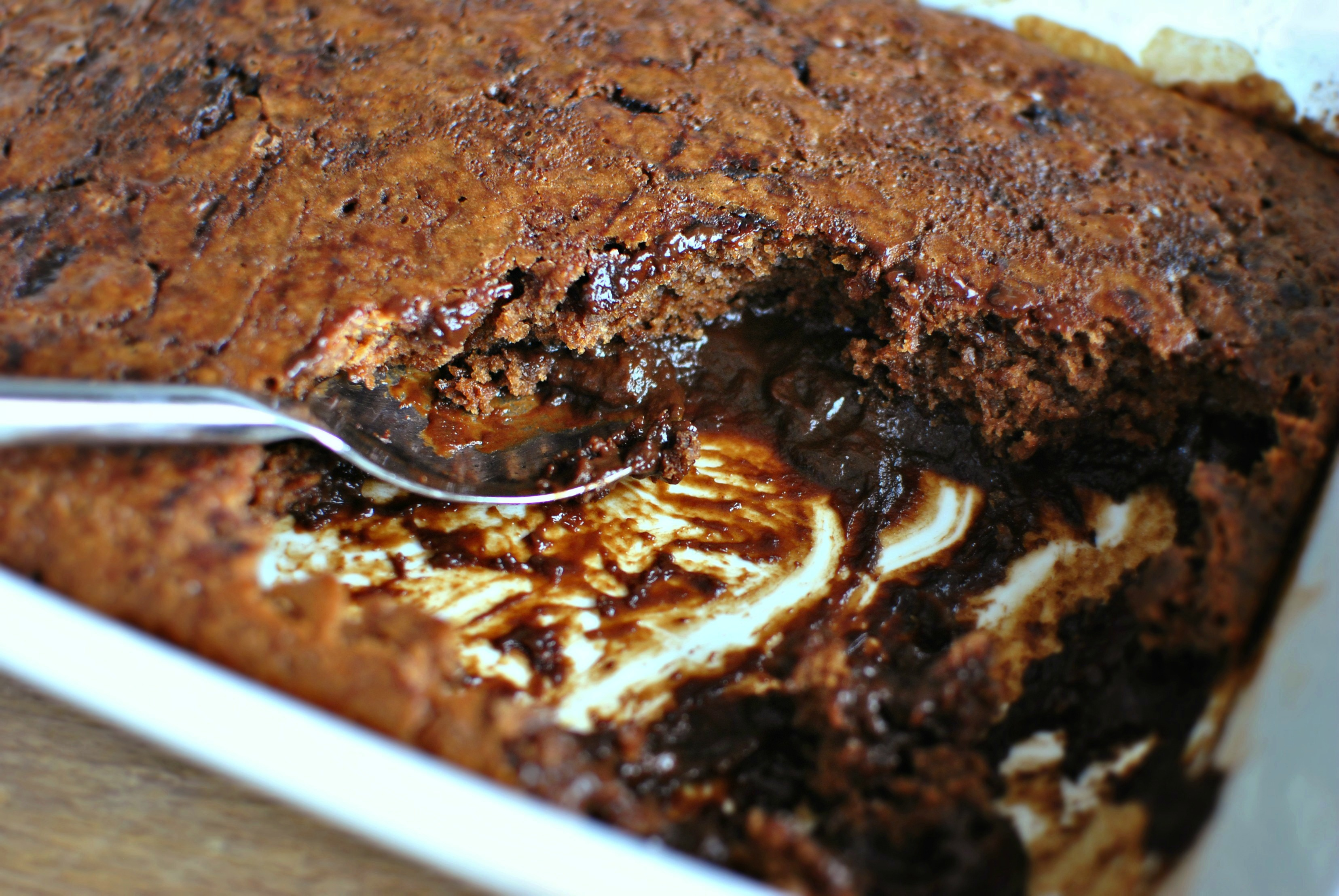 Gooey Chocolate Coffee Cake