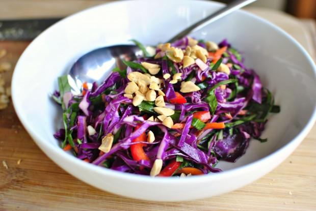 Asian Cabbage Slaw 2