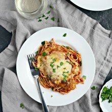 Easy Chicken Parmesan l SimplyScratch.com  (37)