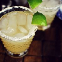Honey Lime Margaritas