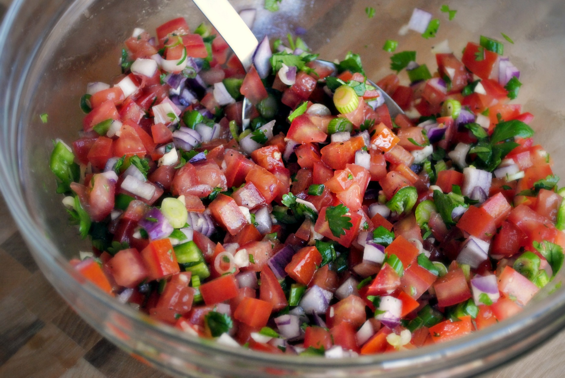made this AMAZING Pico de Gallo . GAH! You guys this pico is the ...