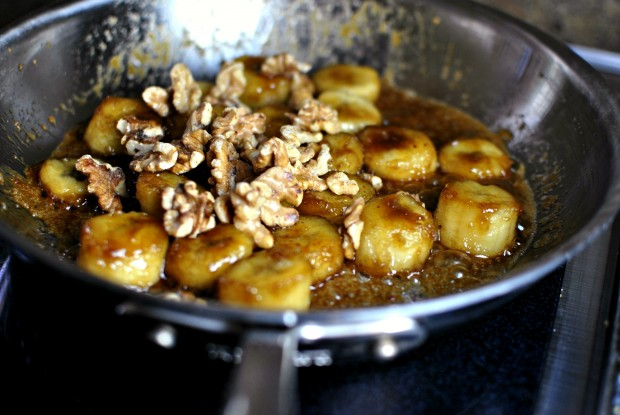 add the toasted walnuts