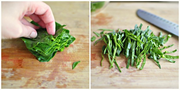 spinach prep