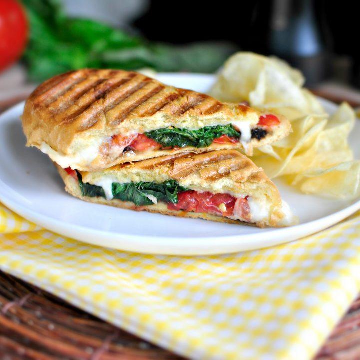Pressed Caprese Sandwich