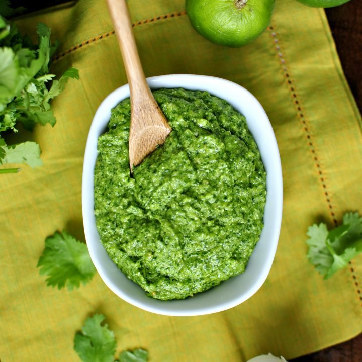 Homemade Cilantro Pesto
