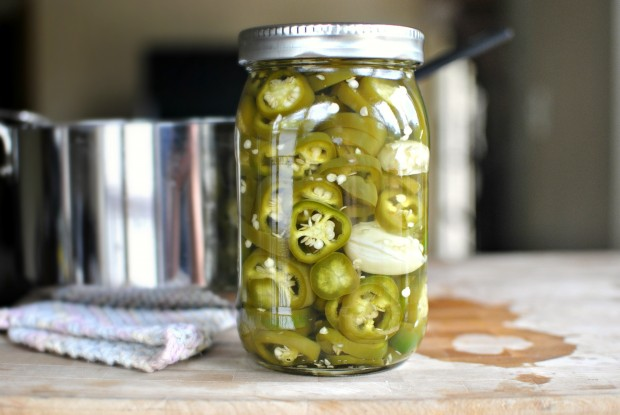 Easy Homemade Pickled Jalapenos www.SimplyScratch.com