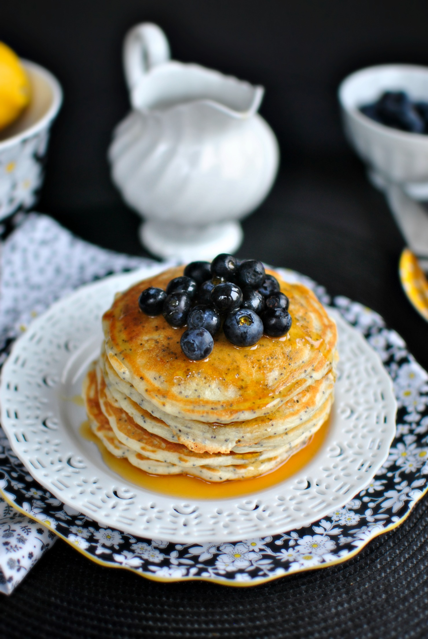 Simply Scratch Lemon Poppy Seed Pancakes - Simply Scratch
