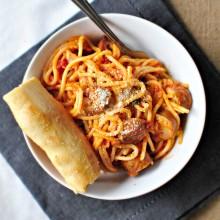 Pasta al Pomedoro 2 www.SimplyScratch.com