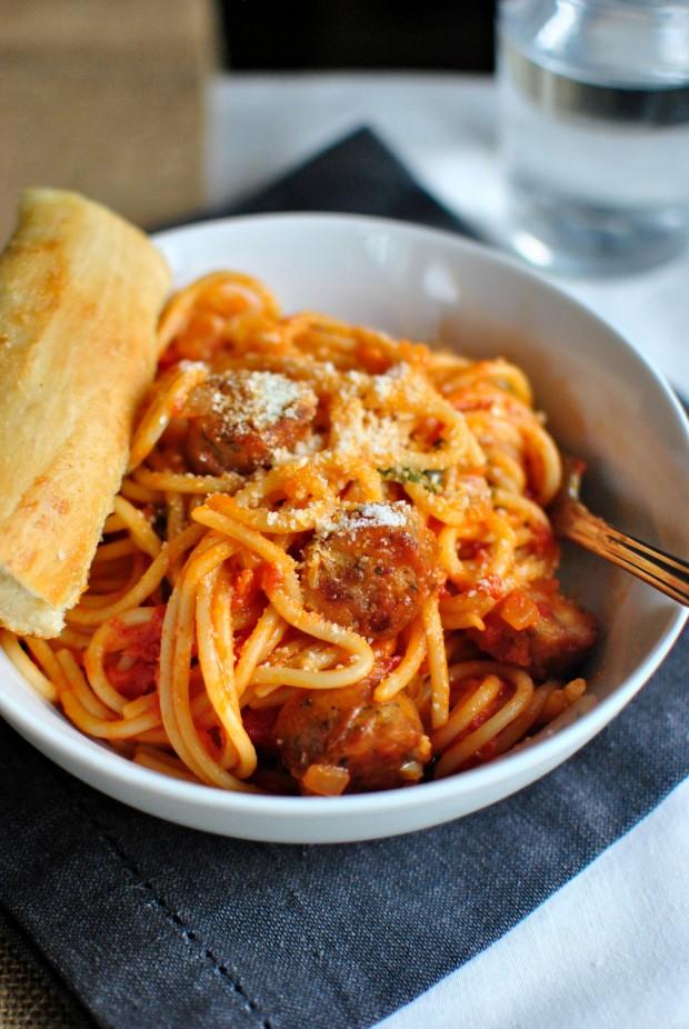 Spaghetti al Pomodoro l SimplyScratch.com