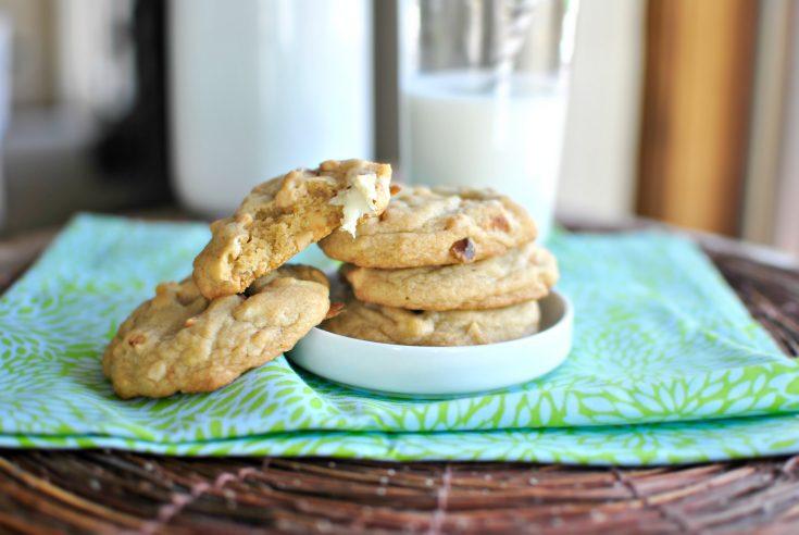 White Chocolate Chunk and Roasted Macadamia Nut Cookies