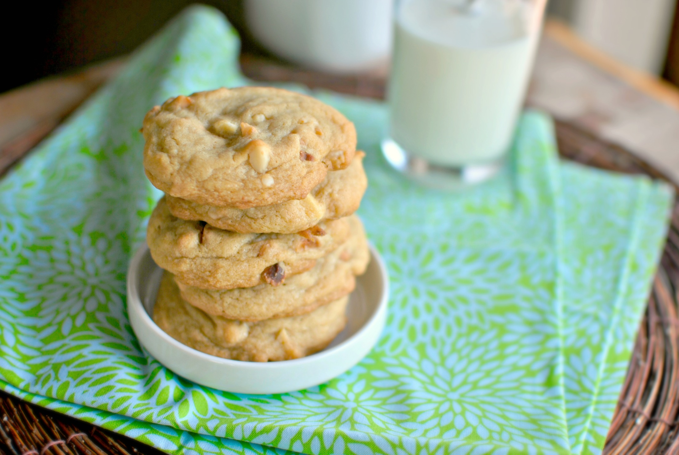 Simply Scratch White Chocolate Chunk Macadamia Nut Cookies - Simply ...